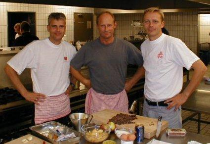 Hold 4: Tom,  John, Carsten
