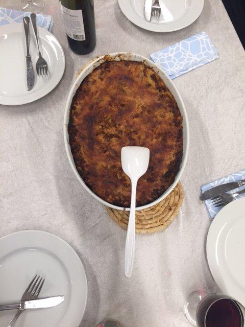 Rødvins lasagne