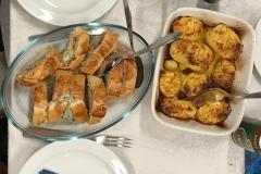 Indbagt mørbrad med hasselbagte kartofler og broccoli