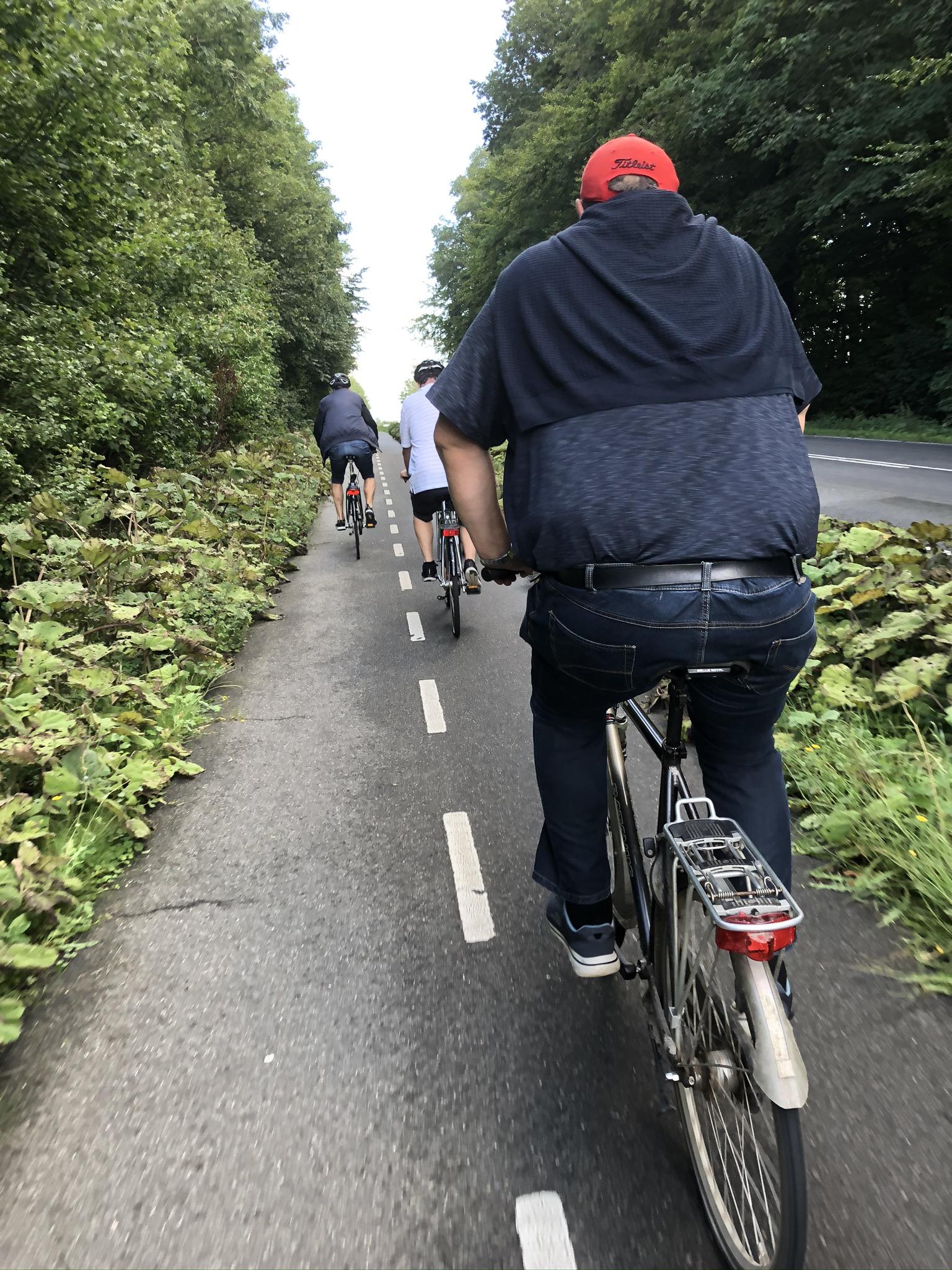 cykeltur mod vingård